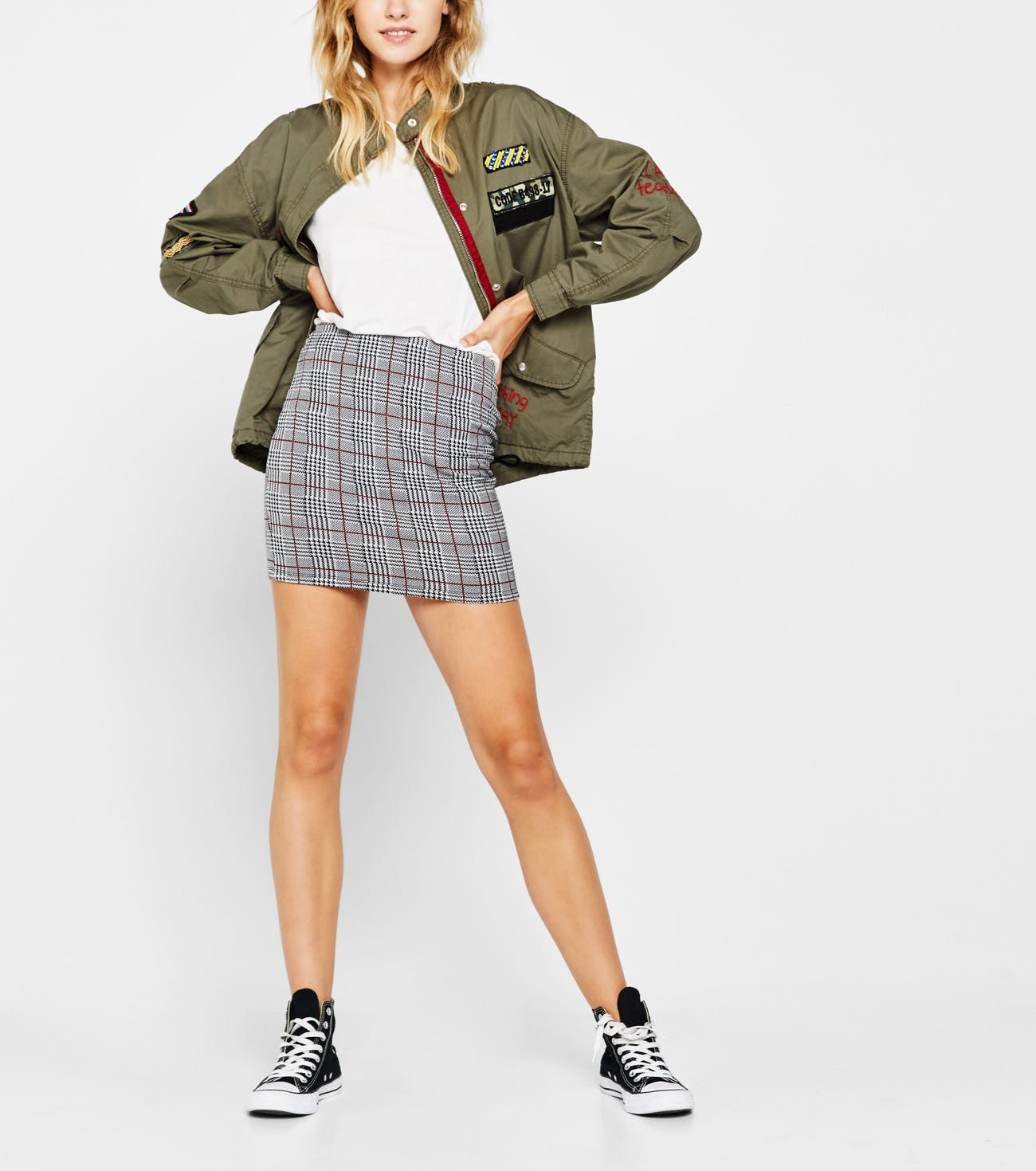 entrega gratis sensación cómoda bajo precio 4 looks casual con faldas de tubo