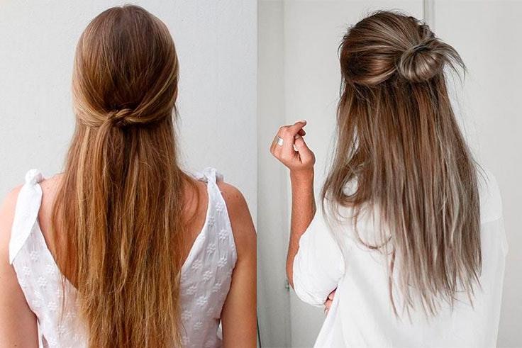 De 10 Peinados Faciles Para Pelo Largo Paso A Paso